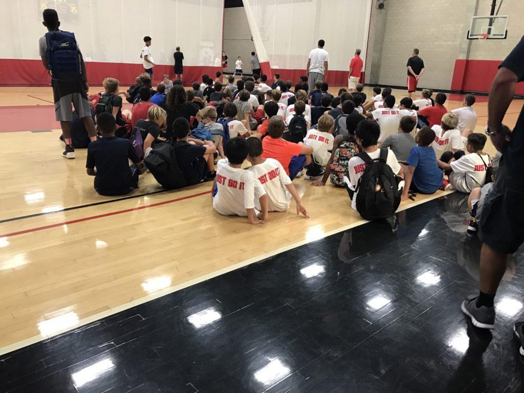SDSUバスケキャンプ3日目の様子