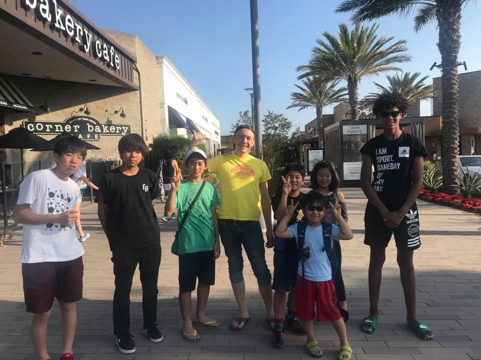 サンディエゴ|夏休み短期留学・海外スポーツキャンプ|英会話レッスンと現地で会話
